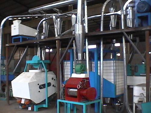 青稞加工制粉生产线