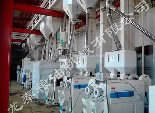 300吨碾米机成套设备