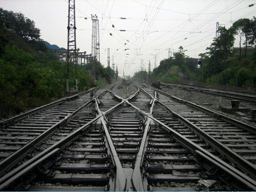 铁路道岔中一些工具的工作条件