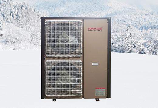 空气能供暖设备与空调的效果对比