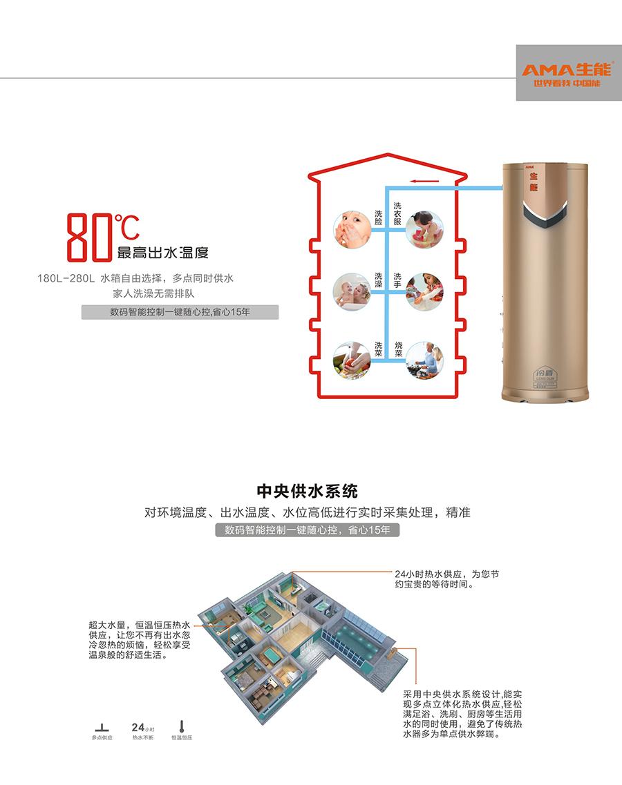 安阳空气能热水器的价格