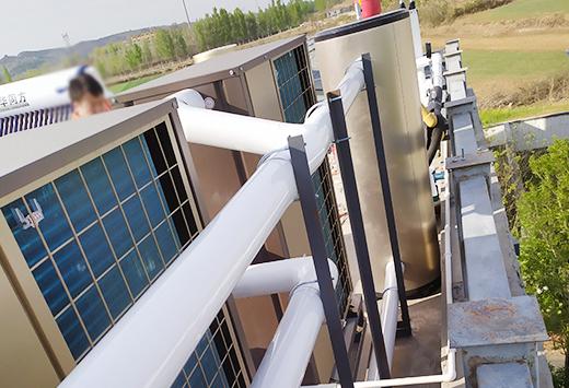 鹤壁别墅中央空调两联供系统1