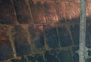 铸石板生产车间
