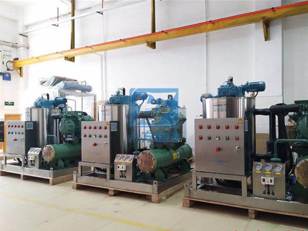工业制冷机安装