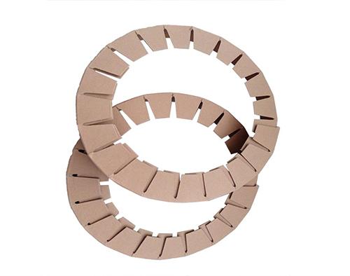 圆形纸护角