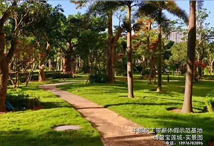博鳌宝莲城--实景图