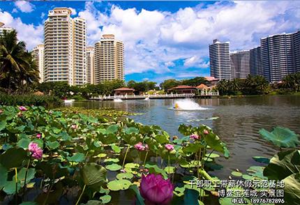 博鳌宝莲城--公园图