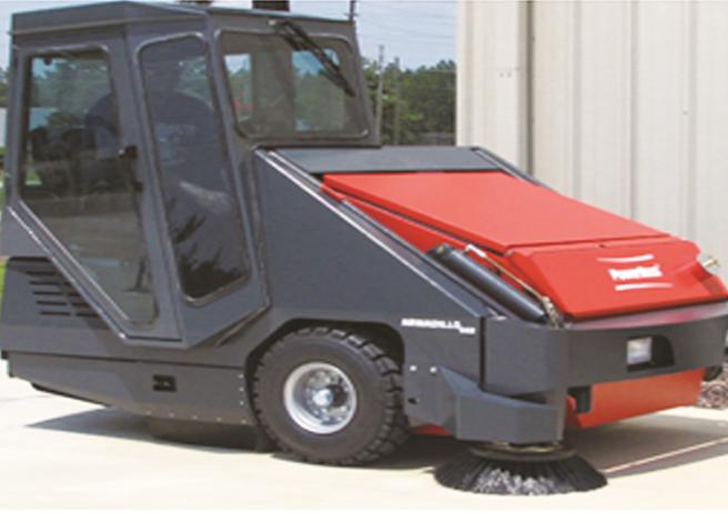 9XR重工业级负压控尘扫地机