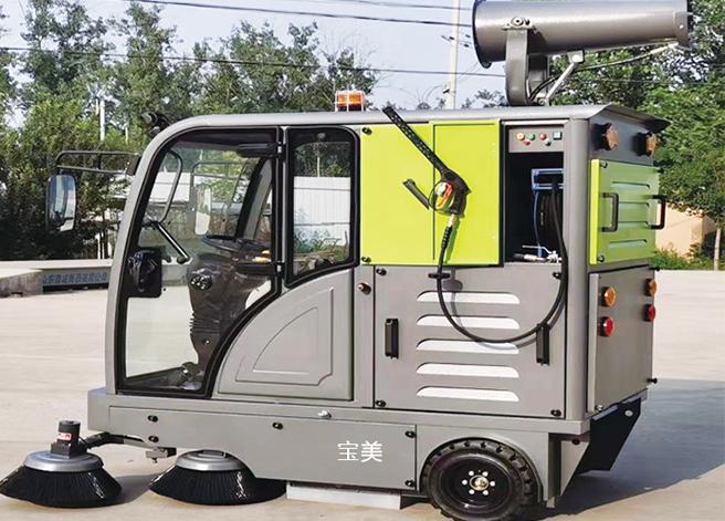 S7高压清洗驾驶式扫地机