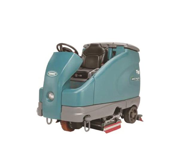 坦能T16 驾驶式洗地机