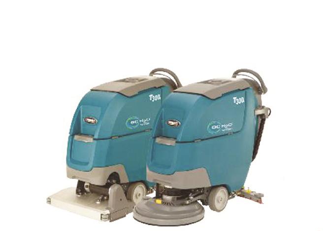 坦能 T300e 手推式洗地机