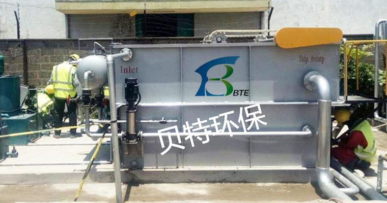 气浮机如何完成污水处理流程是什么?