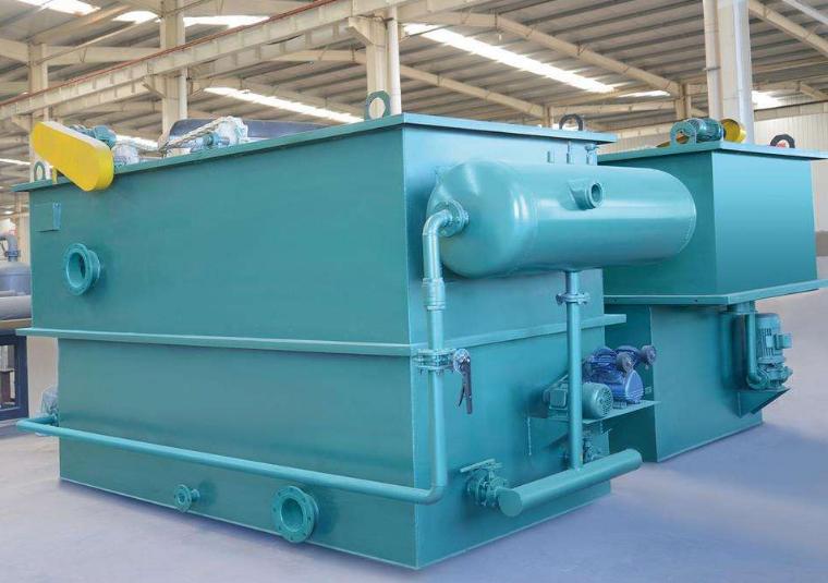 气浮设备一体式气浮机在污水处理方面的应用是非常广泛的