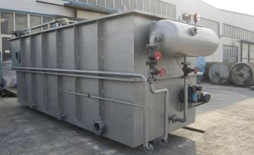 溶气气浮机的箱体如何设计呢?