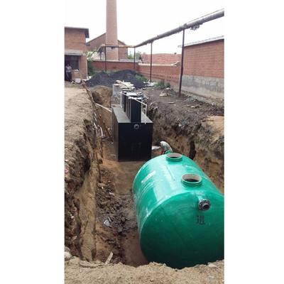 农村污水处理设备的接收和存储
