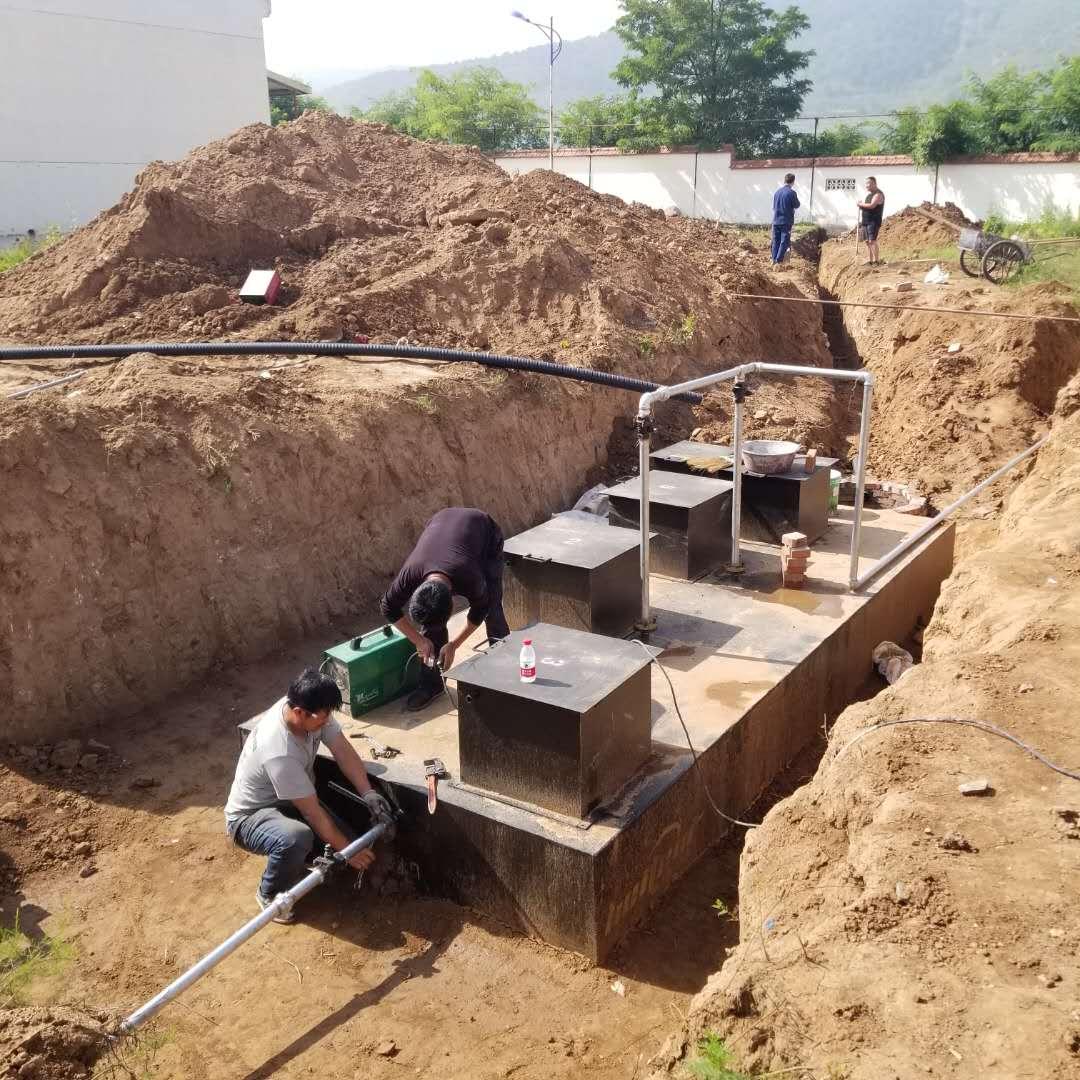 带你了解农村生活污水处理设备工作流程有哪些?