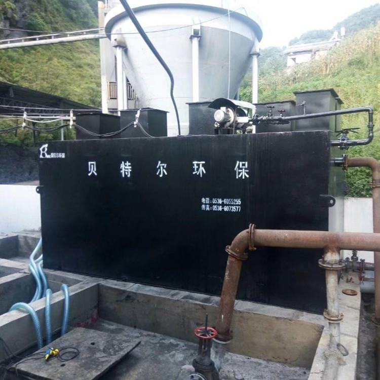 详解地埋式生活污水处理设备