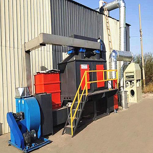 食品厂废气处理活性炭吸附装置