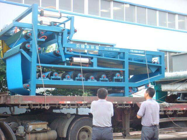 造纸厂污水污泥脱水机
