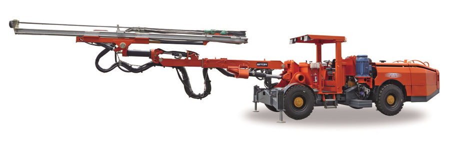 轮胎式单臂掘进台车 DW1-90