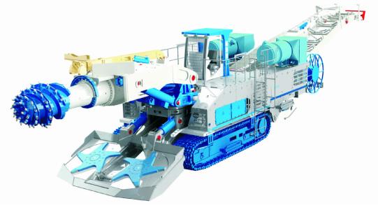 NTR450 Tunneling Roadheader