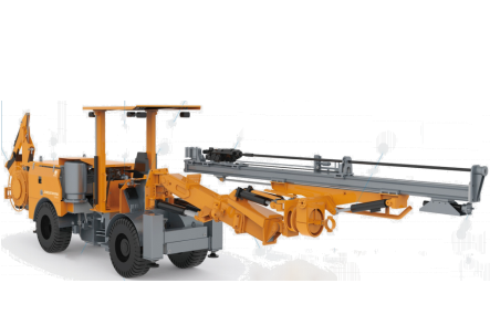 G×651 Tunneling Rock Drilling Trolley