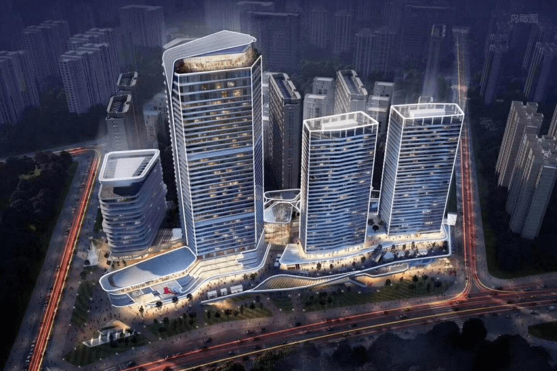 西安曲江中心项目