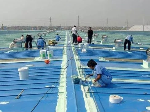 鸿峰防水涂料施工流程及注意事项