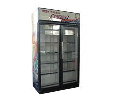 立式玻璃门冷藏柜/冷冻柜(双门)