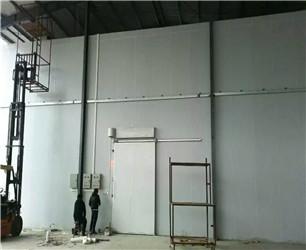 100立方小型果蔬冷库建设