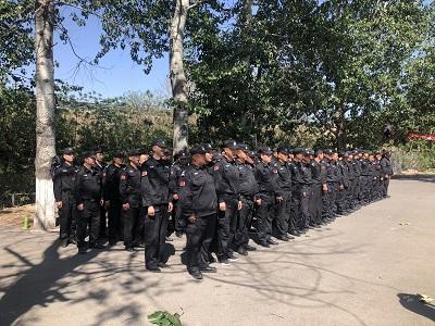 北京保安军事训练