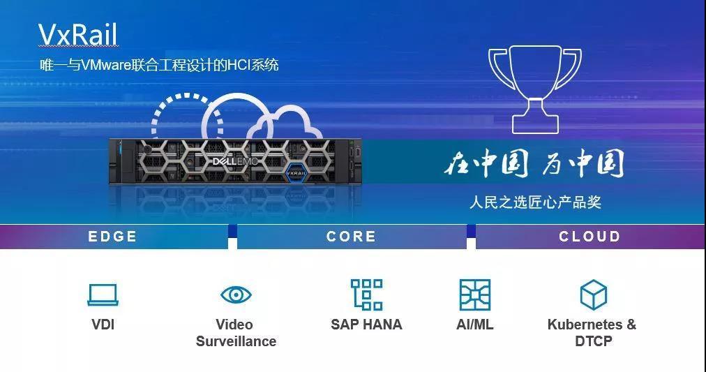 北京DELL戴尔服务器代理商:VxRail已经在全球超融合市场取得成就!