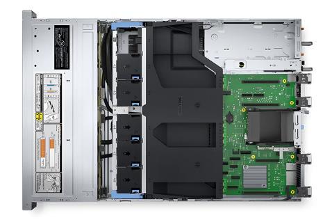 戴尔R550服务器内部图