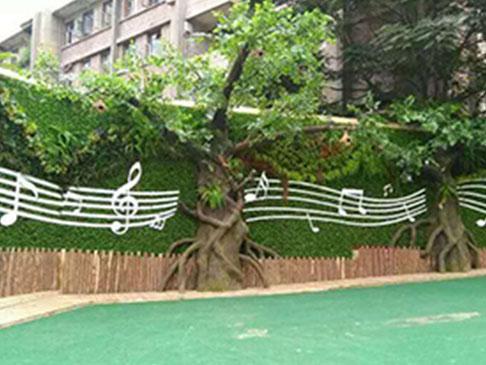 水泥型仿真树