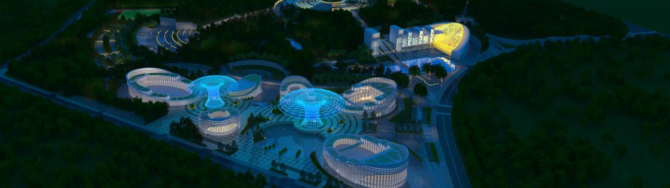 城市综合体照明