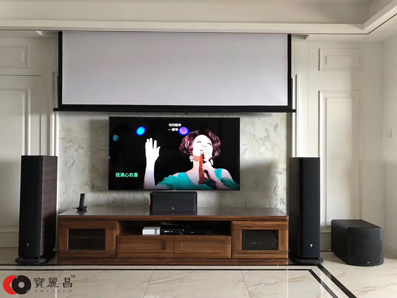 家庭影院音响设备环绕声摆位建议