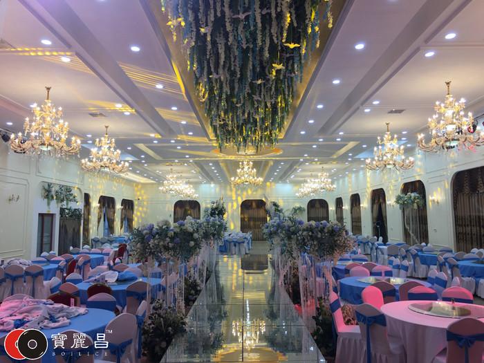 西安宴会厅音响设备调试及安装案例