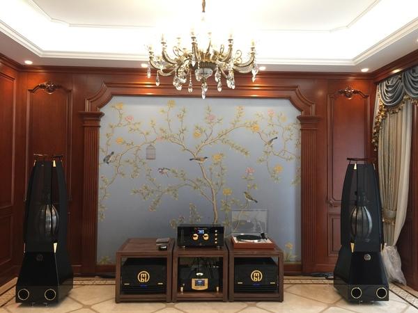 西安市场目前最高端的家庭影院音响设备展示