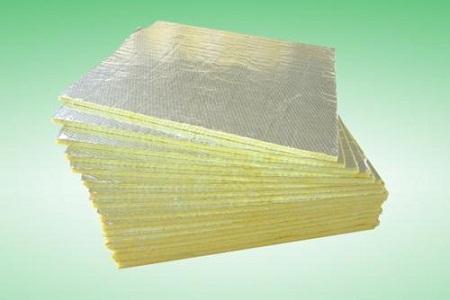 夹筋铝箔贴面玻璃棉