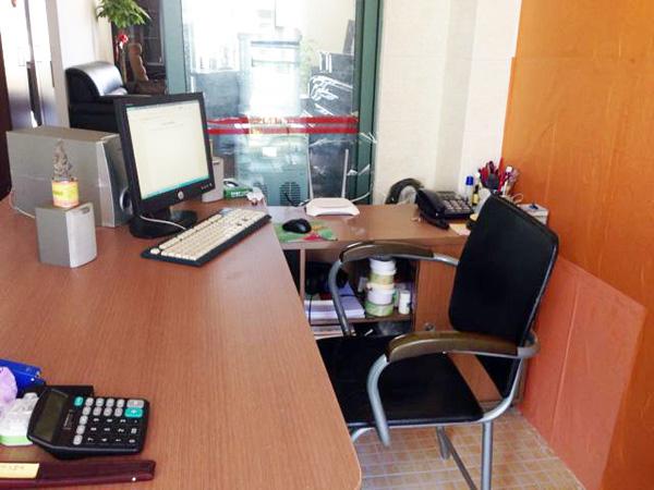 辦公室一角