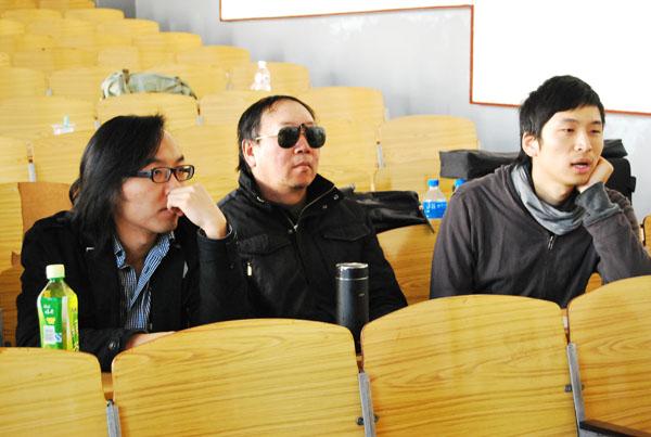 三位模擬考試評委