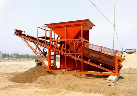 建筑工地筛沙机代理