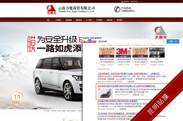 云南力魔商貿有限公司seo優化案例