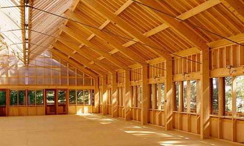 钢结构住宅与木结构房屋的差异