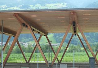 交通木结构