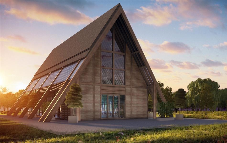 轻钢结构住宅与木结构房屋的对比