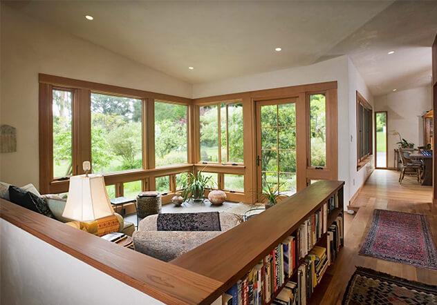 节能实木木窗