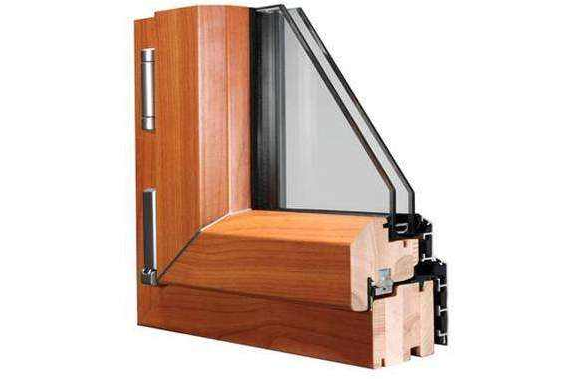 铝包木窗户