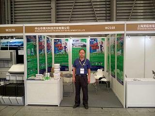 我司参加上海绿色建材展