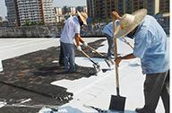 屋顶防水涂料施工案例